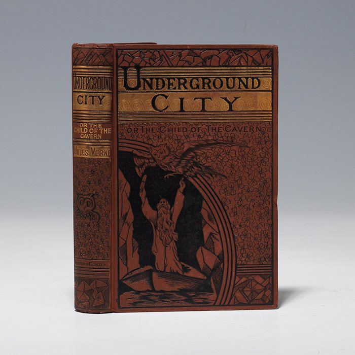 First American illustrated edition of The Underground City, 1878 (BRB 101894)