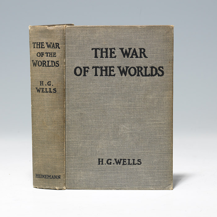 A first edition copy, 1898, presented to Wells' close friend and scientific adviser (BRB 104577)