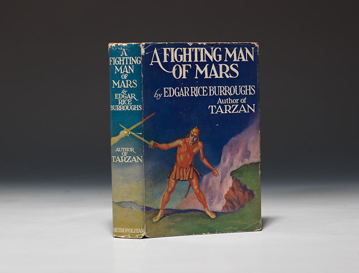 First edition, first issue, of Fighting Man of Mars by Edgar Rice Burroughs (BRB 91508)