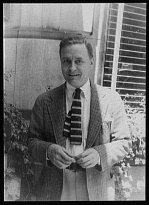 Portrait of F. Scott Fitzgerald by Carl Van Vechten, 1880-1964, created June 4, 1932.
