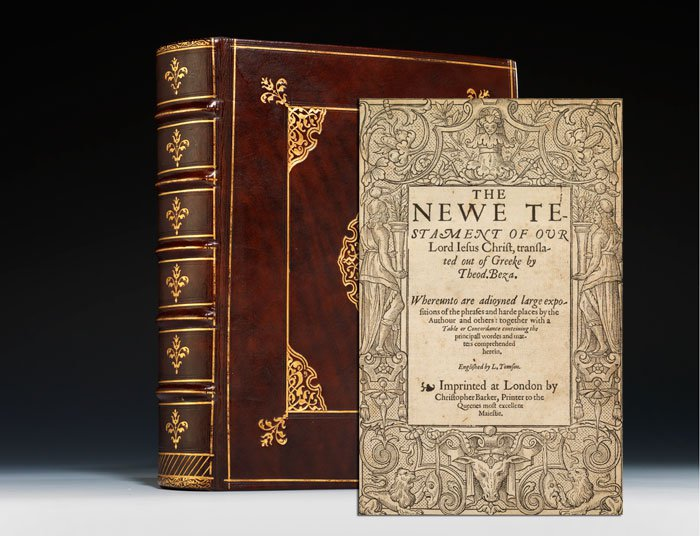 A 16th century Geneva Bible (BRB 72355)