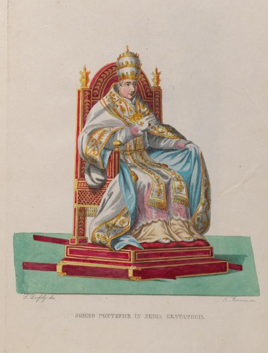 Costumi Religiosi, ca. 1830