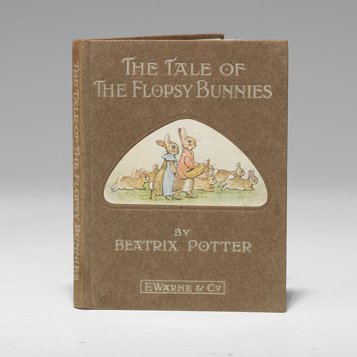 First edition (1909) of The Tale of the Flopsy Bunnies (BRB 105425)