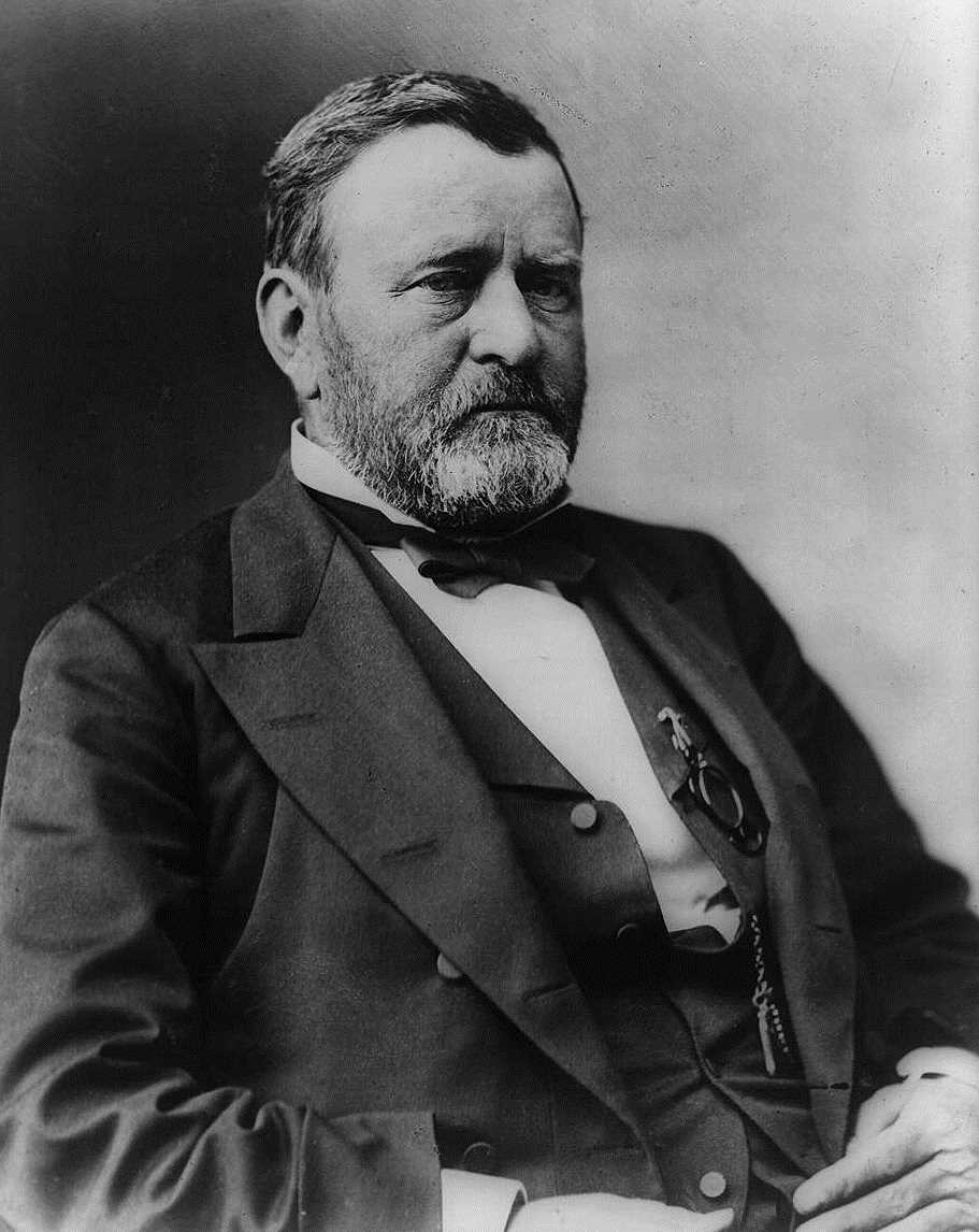 Ulysses S. Grant, late in life, courtesy Library of Congress