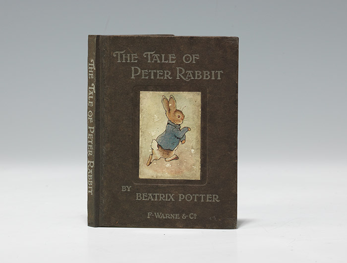 A first edition (1902) of The Tale of Peter Rabbit (BRB 101783)