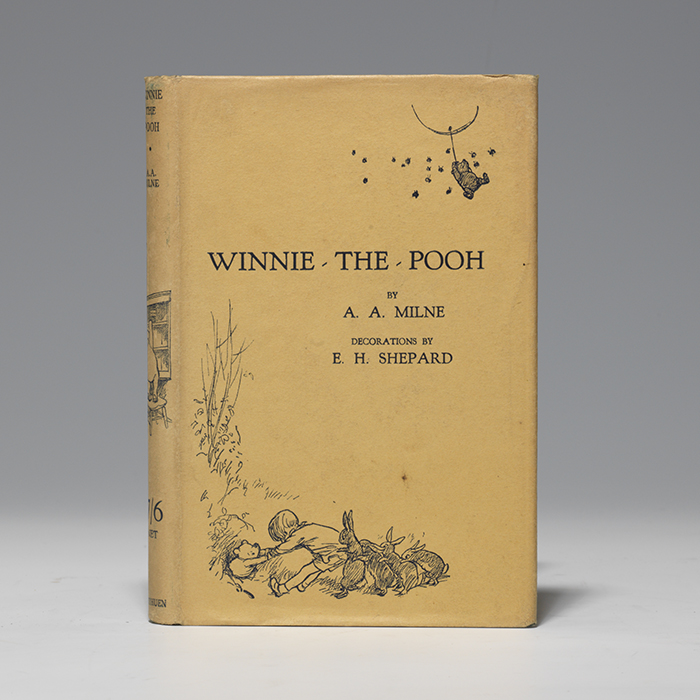 A first edition, 1926, of Winnie the Pooh, (BRB 105966)