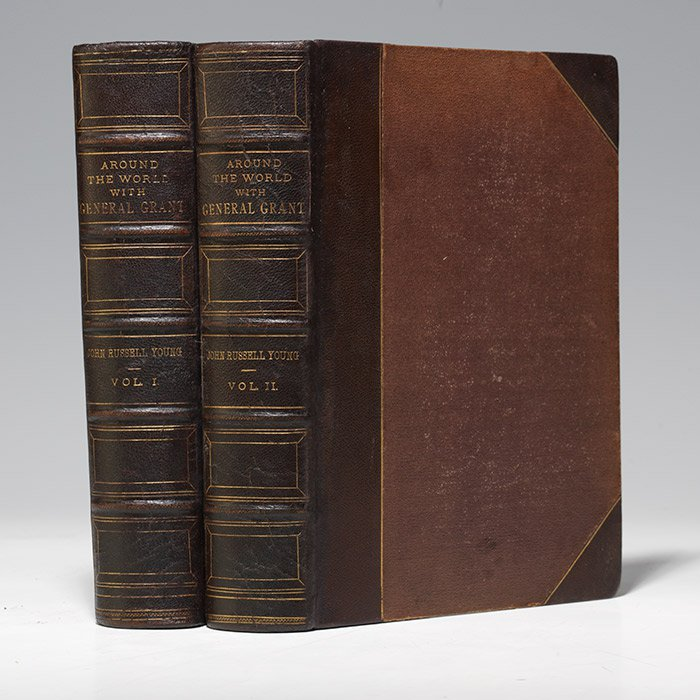 First edition of Grant's World Tour, 1879, written by Grant's traveling companion John Young (BRB 105132)