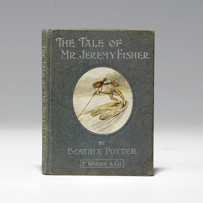 First American edition (1906) of the Tale of Jeremy Fisher (BRB 105630)